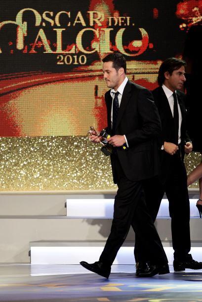 Ya en cuanto a los ganadores, el brasileño Julio César se...