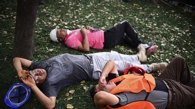 En fotos: Fuerte terremoto estremece México