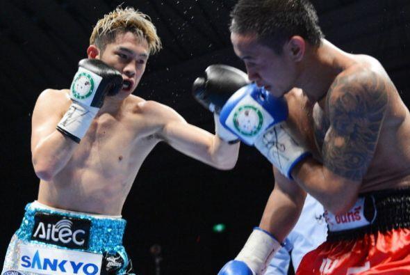 Era la primera ocasión en que el boxeador japonés de 24 años defendía el...