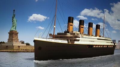 El legendario Titanic 'volverá' desde lo más profundo del océano gracias a una réplica