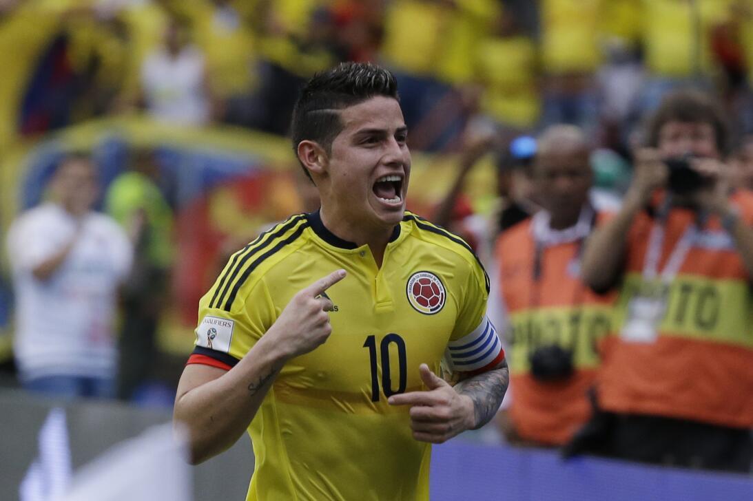 31. James Rodríguez (Colombia)