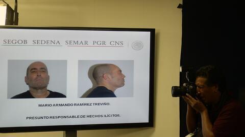 El gobierno mexicano mostró fotos de Mario Armando Ramírez...
