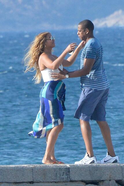 ¡Beyoncé y Jay Z están beso y beso! SALF_BYZCIL150916_11.JPG