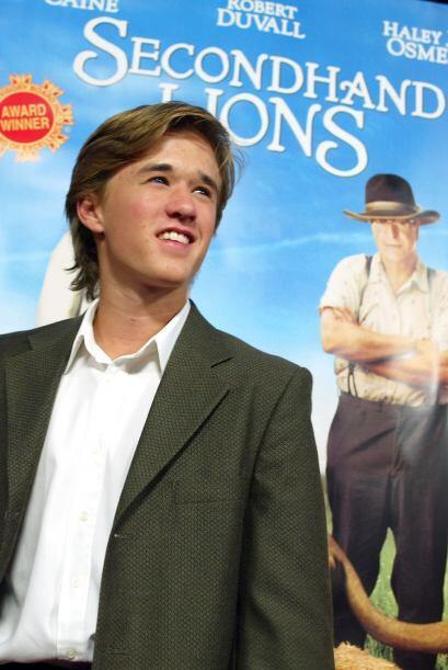 Leones de Segunda Mano fue uno de los filmes que realizó en 2003.