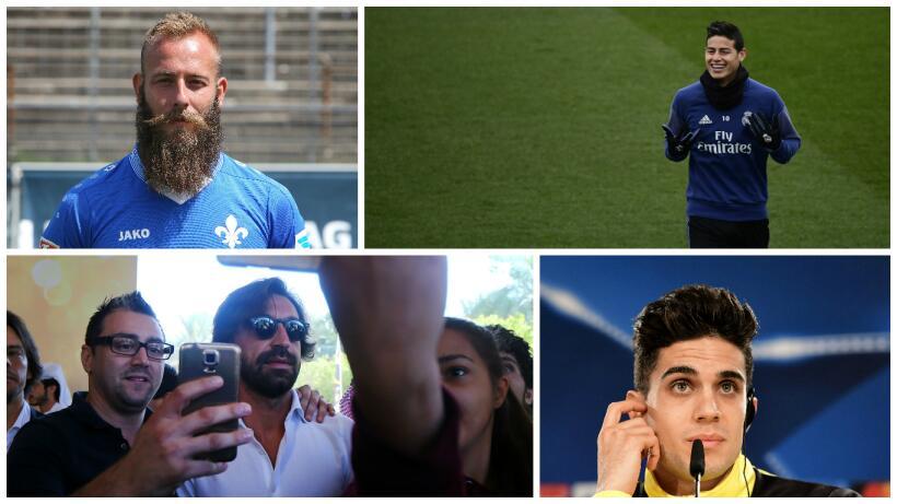 En fotos: 20 estrellas del fútbol europeo que acaban contrato a mitad de...