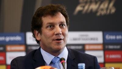Alejandro Domínguez anunció a Madrid como sede de la final de la Copa Libertadores 2018
