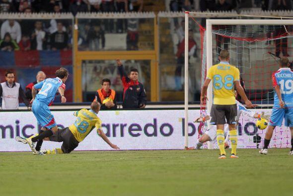 Pero Giovanni Marchese aprovechó su chance y empató para la tranquilidad...