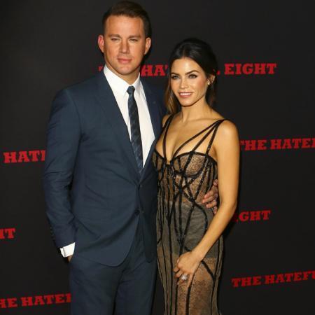 Channing Tatum y su mujer Jenna Dewan Tatum