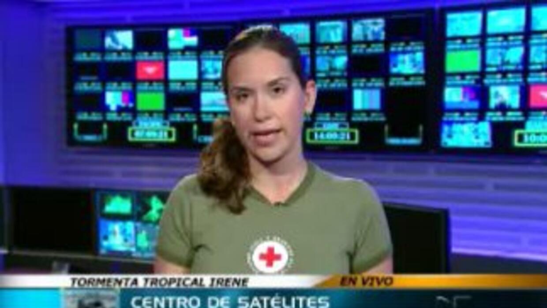 La Cruz Roja ayuda después del huracán Irene
