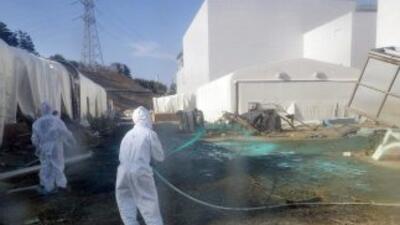 El accidente nuclear provocado en la central japonesa de Fukushima por e...