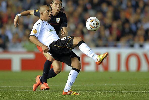 Eso dejaba ver que Valencia manejaba el balón con la presi&oacute...