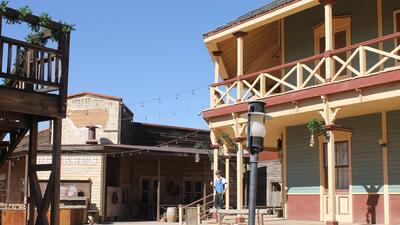 En fotos: Un recorrido por los estudios de cine del viejo oeste 'Old Tucson'