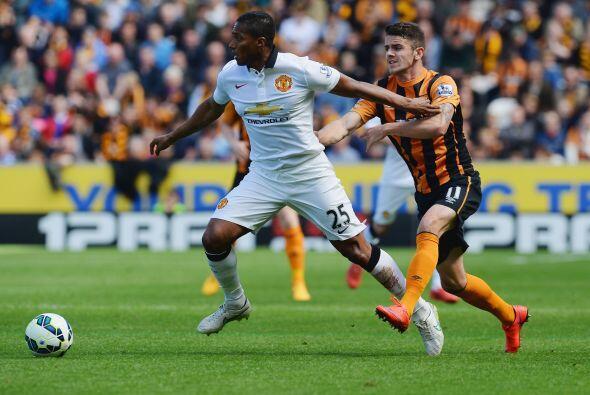 El Manchester United no pudo doblegar de visitante al Hull City.