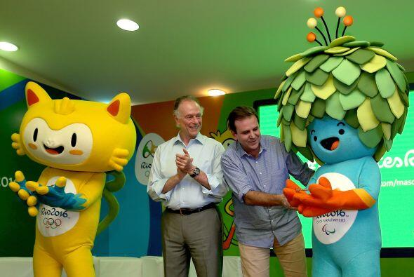 Las dos mascotas fueron presentadas este lunes por el Comité Olímpico Br...