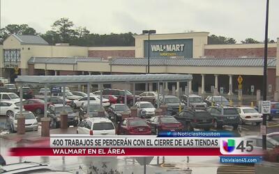 Cierran dos tiendas Walmart en el área de Houston