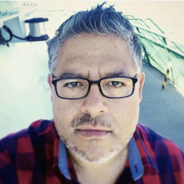 3. Alberto Cerriteño, mexicano, director principal de arte del programa...