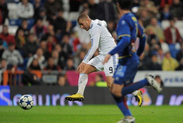 Pero Benzema no había ni empezado con su gran actuación.