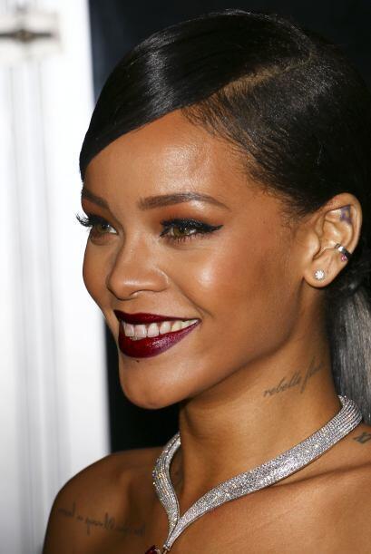 Rihanna debió haber terminado feliz de su Diamond Ball.