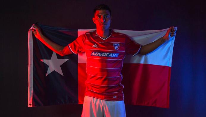 Nueva camiseta de FC Dallas