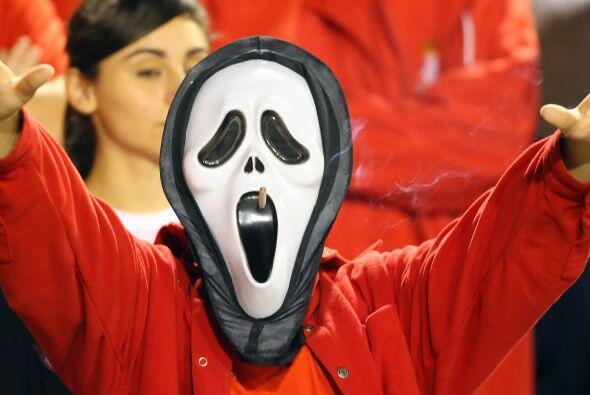 La máscara de la película de horror 'Scream' es un popular disfr...