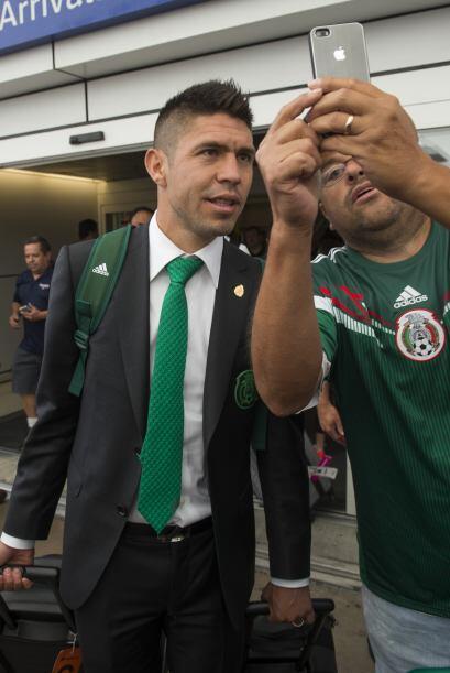 El gran Oribe Peralta, e jugador de moda en el fútbol mexicano, también...