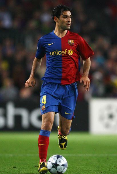 Rafael Márquez es el mexicano que más años lleva jugando en Europa con 1...