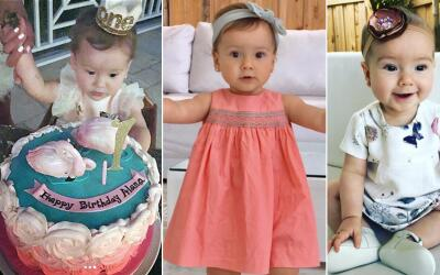 Ella es Alana, la bebé de Satcha Pretto