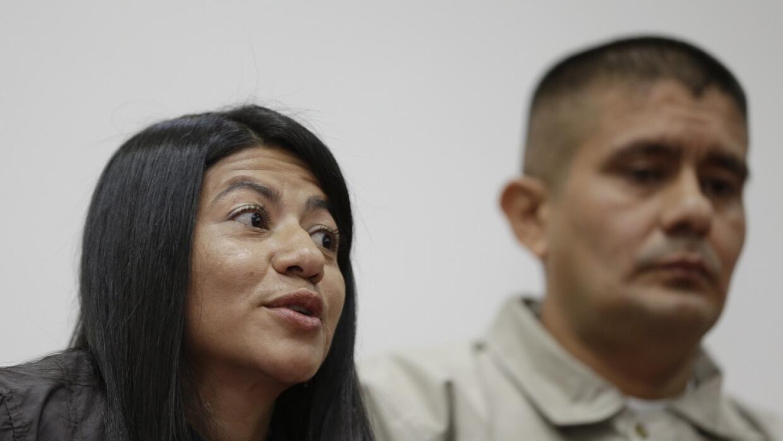 Guerrilleros de las FARC liberados