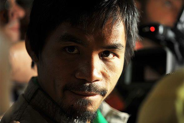 Manny Pacquiao, seis veces campeón del mundo, buscará arrebatar la faja...