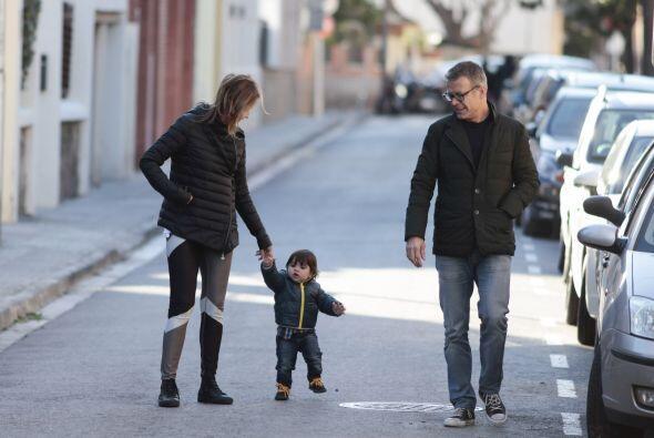 Los papás del futbolista lo sacaron a pasear y nos presumieron sus prime...