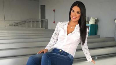 Carolina Ramírez derrite el pronóstico del clima con su outfit