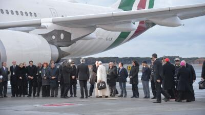 El papa Francisco viaja  México