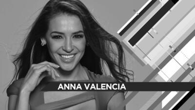 Anna Valencia: 'Quiero ser como Alicia Machado'