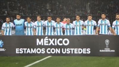 Conmebol se solidariza con México