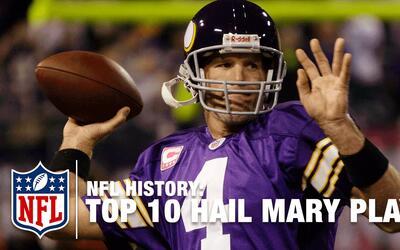 Top 10 | Mejores 'Ave Marías' en la historia de la NFL