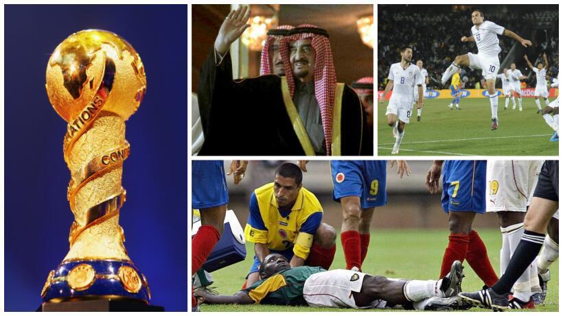 FIFA recuerda a Marc-Vivien Foe, el jugador fallecido en la Confederacio...