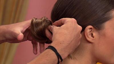 Peinados de pasarela hechos en casa