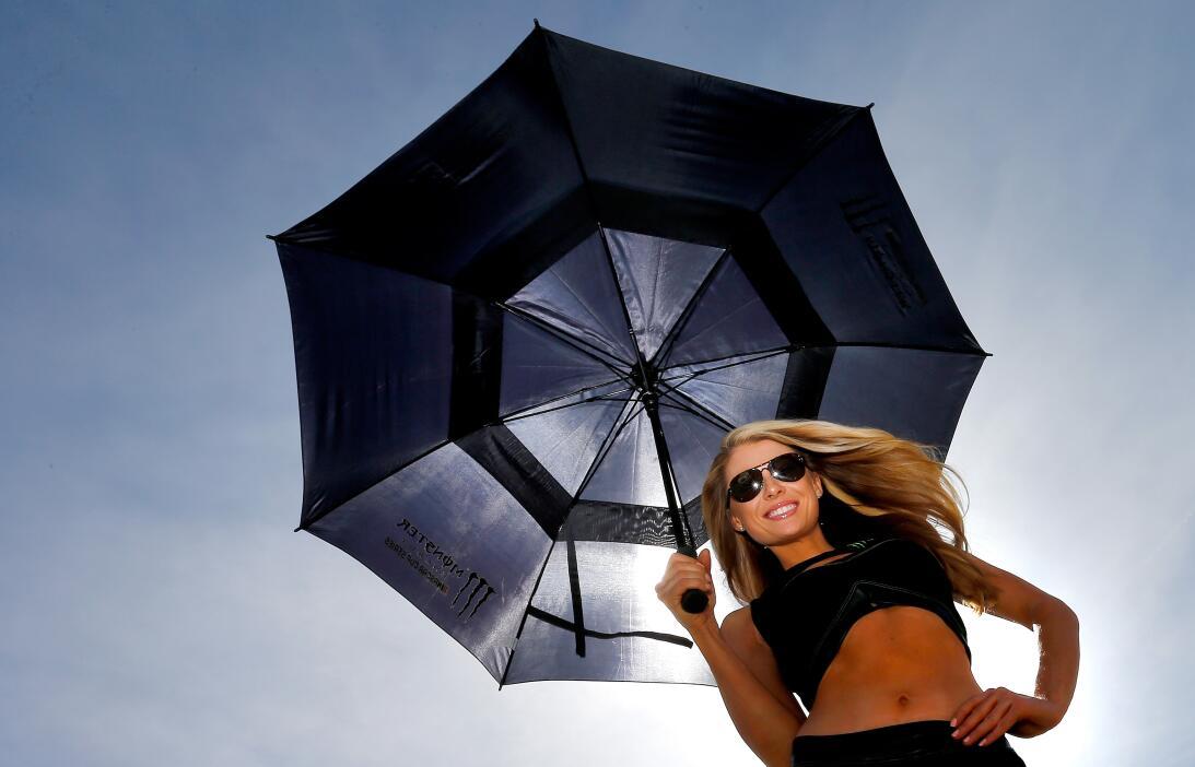 Las Vegas recibió a la Nascar entre la belleza, un día soleado y una pel...