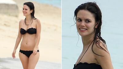 Rachel Bilson disfruta tiempo en la playa