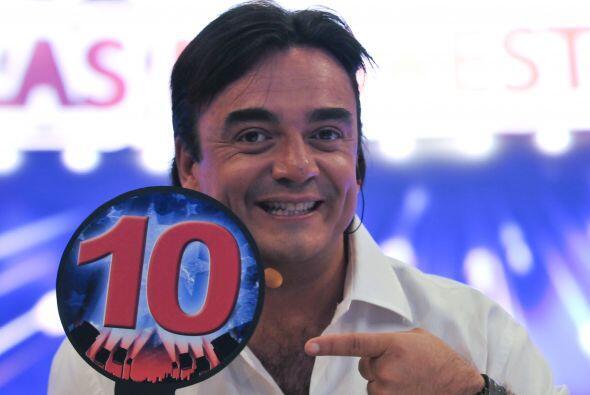 Pierre Angelo, quien salió de un programa infantil, dará muchos dieces.