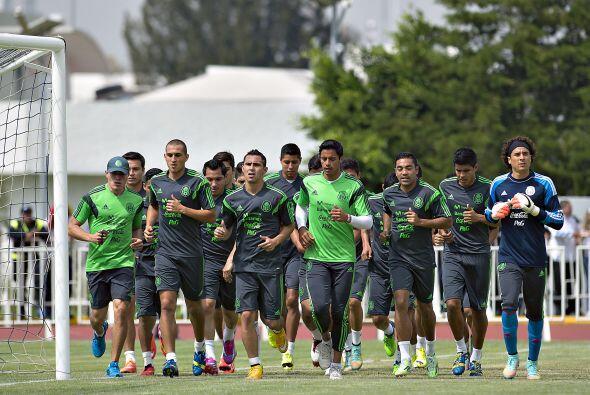 """De """"visita"""" en el país, la Selección Mexicana disputar&aac..."""