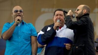 Hugo Chávez va por su tercera reelección como presidente de Venezuela.