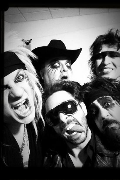 Los rockeros se desataron en Univision.com