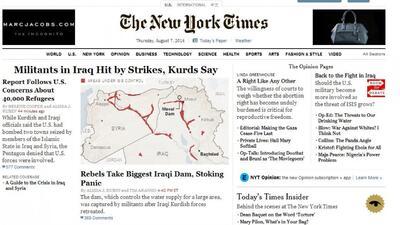 El Pentágono niega que bombardeó a Irak