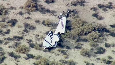 Un muerto en accidente de Virgin Galactic