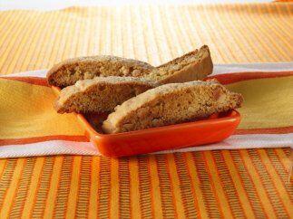 Biscotti de jengibre y almendras. Esta receta es un clásico itali...