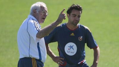 """Para Xavi, el """"sabio de Hortaleza"""" y Pep Guardiola son la crema de la cr..."""