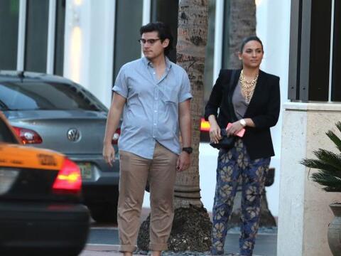 La actriz mexicana fue ignorada por los taxis en Miami. Mira aquí...