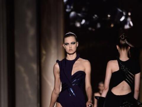 Desfile de alta costura de Versace