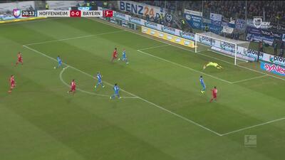 El Bayern presiona con todo y Goretzka perdona ante la portería